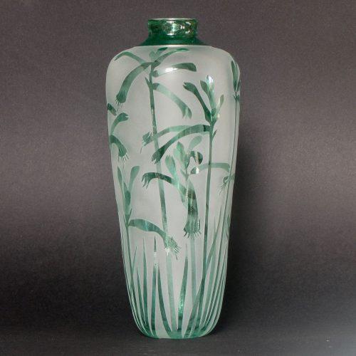 Green Kangaroo Paw vase