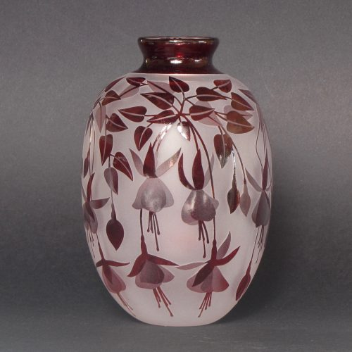 Fuchsia vase