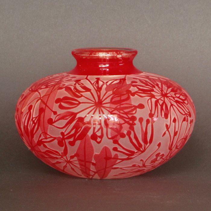 Firewheel Tree vase