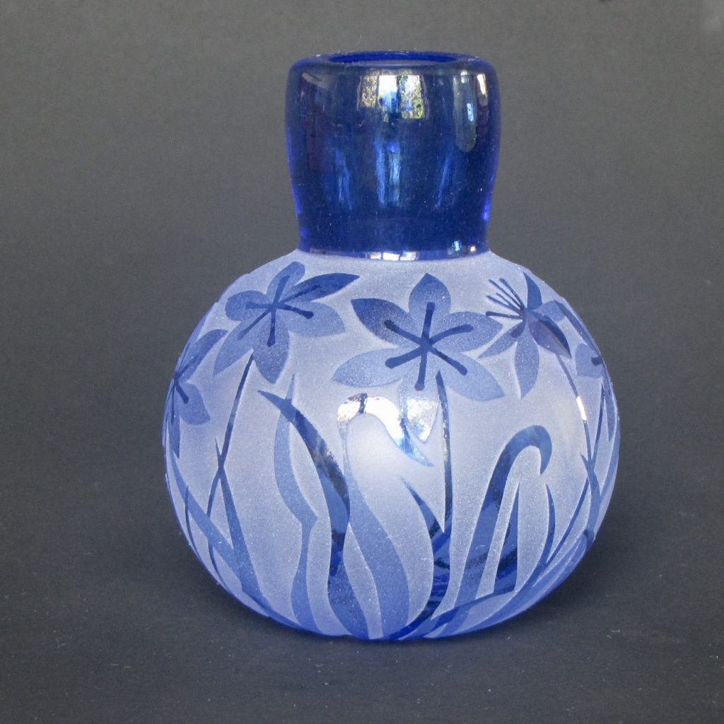 Blue Squill Specimen Vase