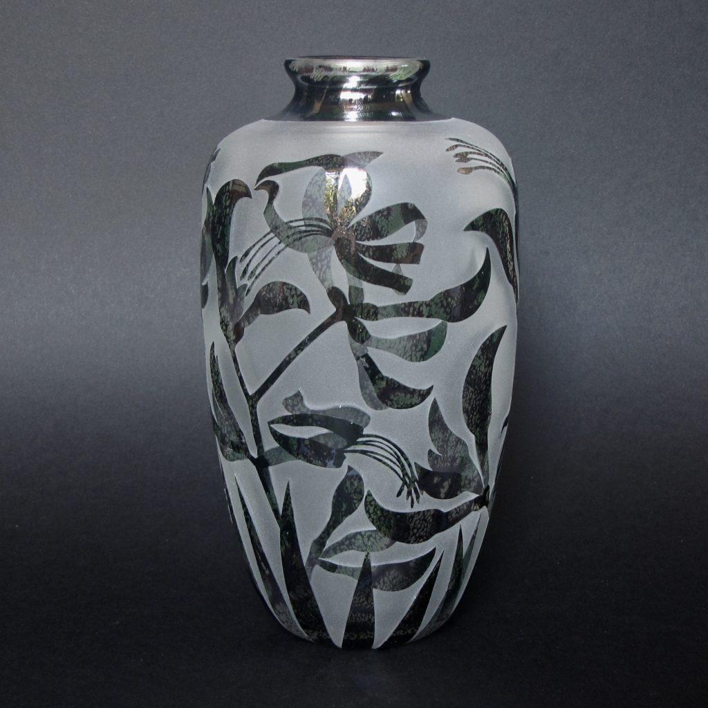 Black Kangaroo Paw Vase