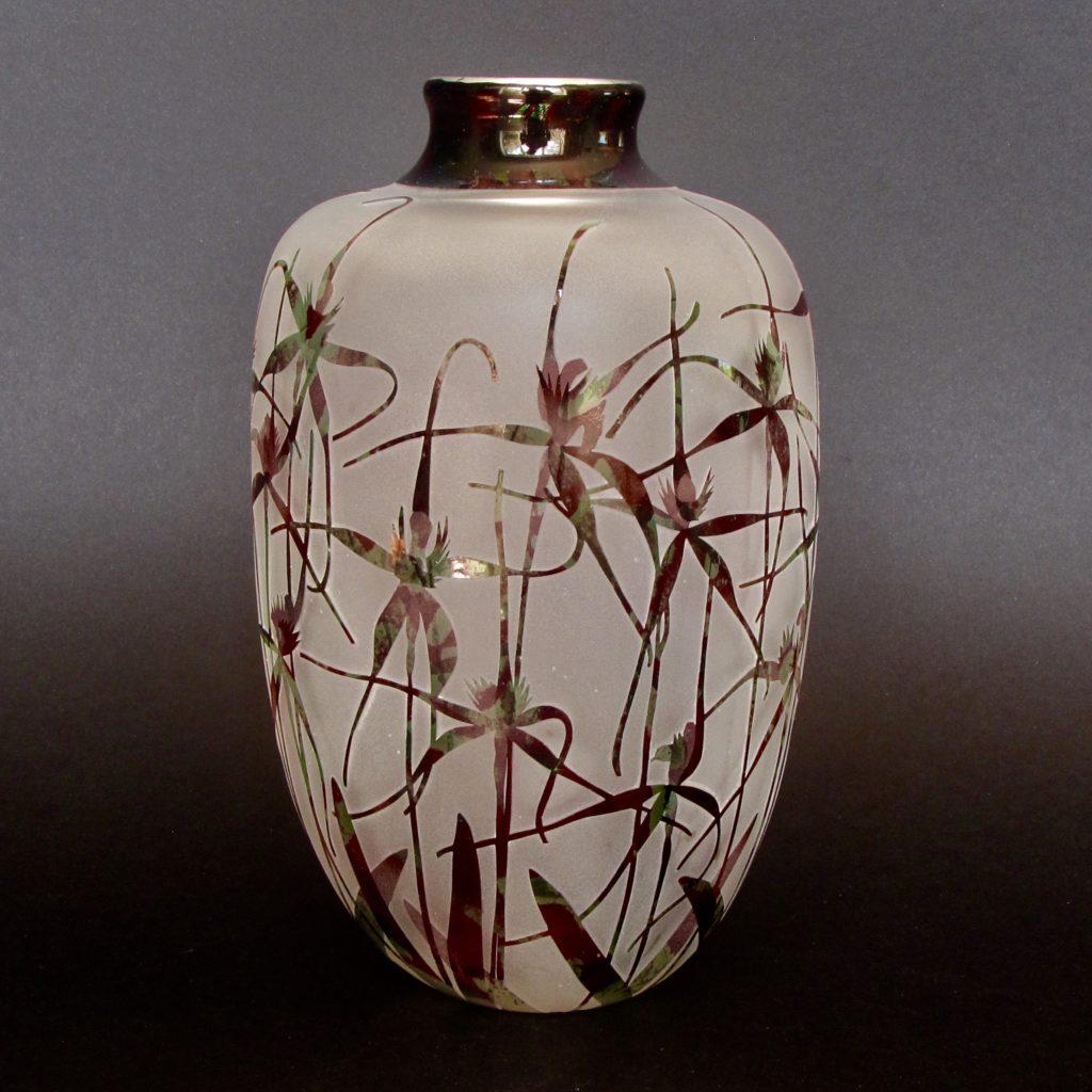 Spider Orchids Vase