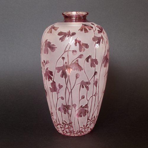 Pink petticoats vase