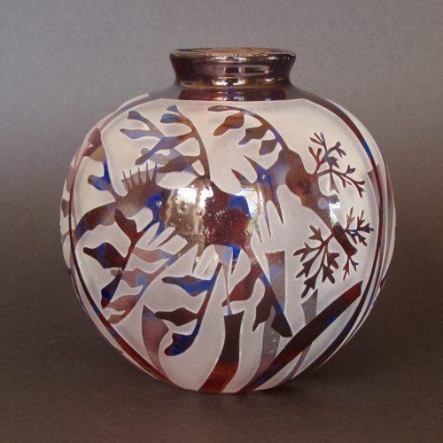 Leafy Seadragon vase