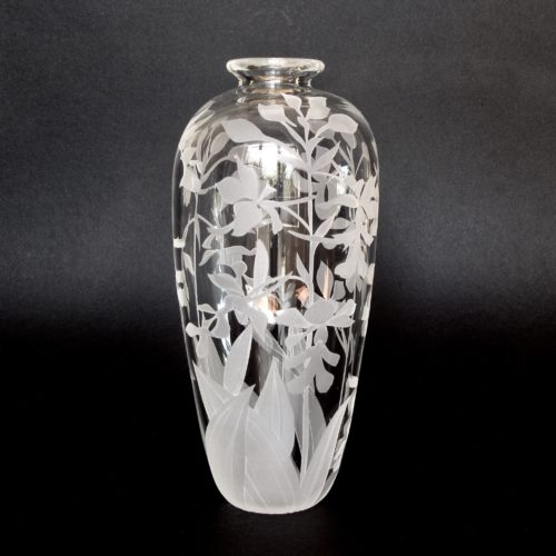 Christmas Orchid Vase
